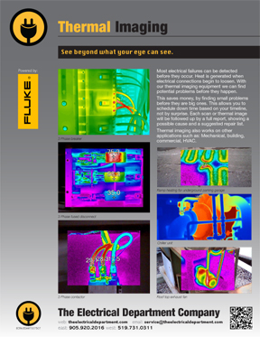 Thermal Imaging to find electrical problems