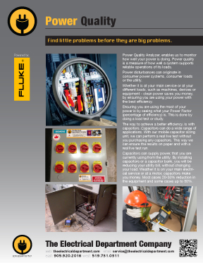 Power Quality Analyzer - The Electrical Department Company