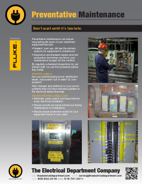 Preventative Electrical Maintenance Services