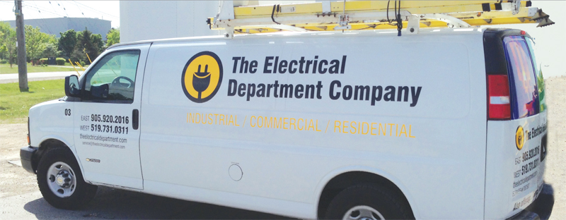 The Electrical Department Company serves Southern Ontario